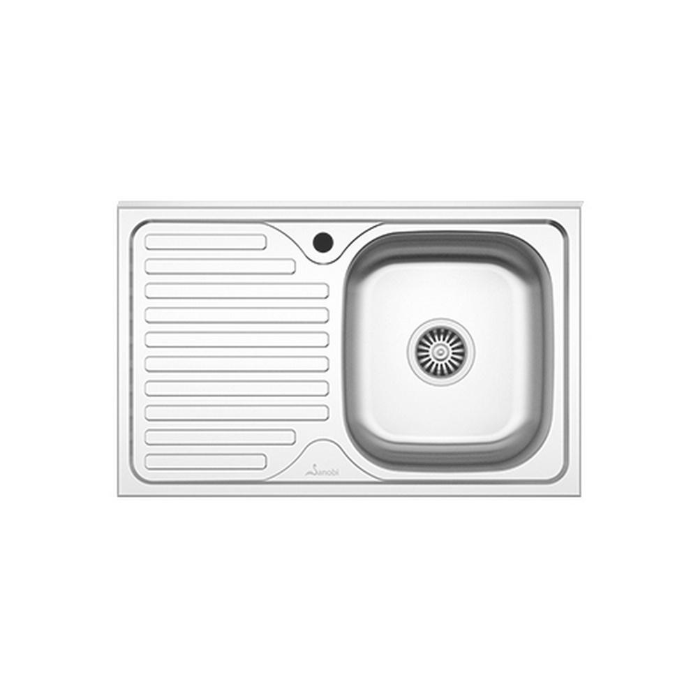 CHIUVETA INOX 1001.MDM 80x50 1C1P DR. SANOBI (1/10)